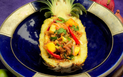 Pineapple Rice (Khao Pad Sapparot)