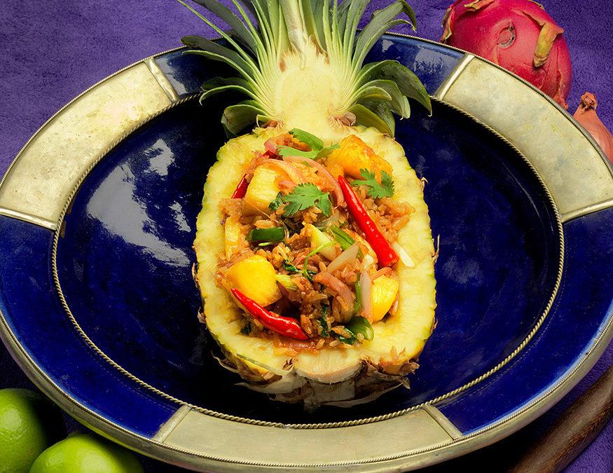Pineapple Rice (Khao Pad Sapparot)